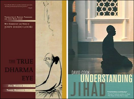 Loori: The True Dharma Eye; Cook: Understanding Jihad