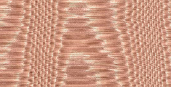 Moire effect from Marvic Textiles bois-de-rose