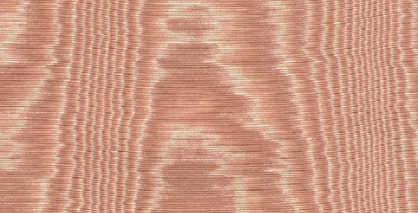 Moire effect from Marvic Textiles bois-de-rose
