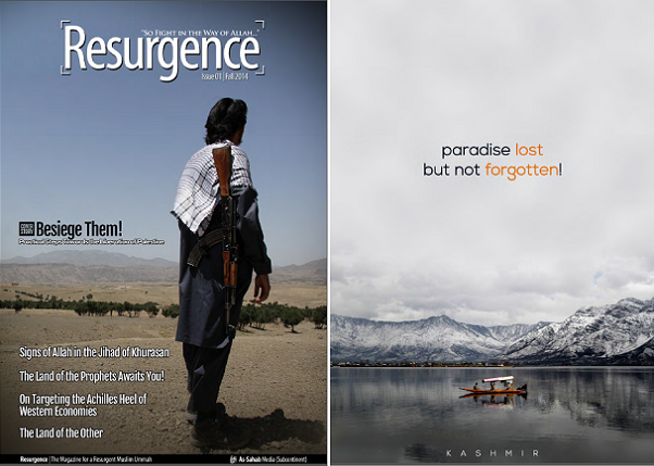 Resurgence cover and back