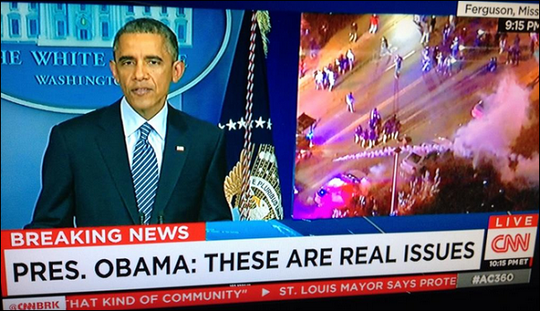 DQ Obama Ferguson CNN