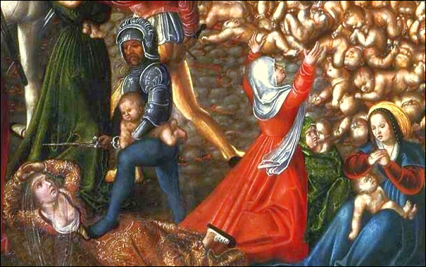 Cranach detail Massacre of the Innocents