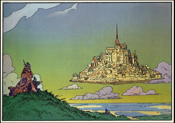 Moebius Floating City