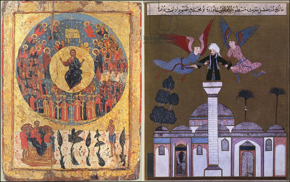 The Second Coming: Orthodox icon and Turkish miniature