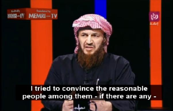 Maqdisi on Roya TV Jordan via MEMRI