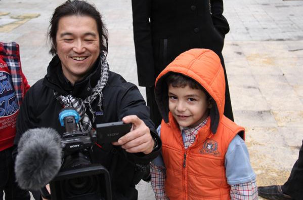Kenji Goto, friend of Syrians