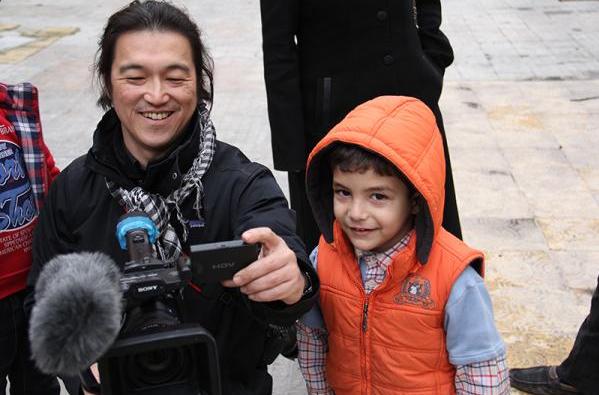 Kenji Goto, friend of Syrians