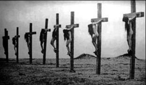 Crucifixion 2 Armenian Genocide