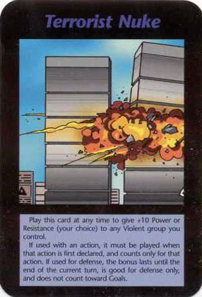 Steve Jackson Games Illuminati WTC card