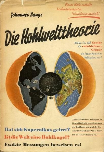 Johannes Lang Die Hohlwelttheorie