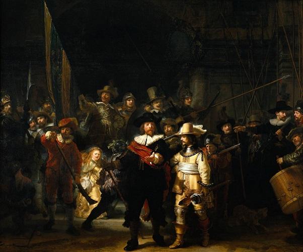 Rembrandt Nightwatch 602