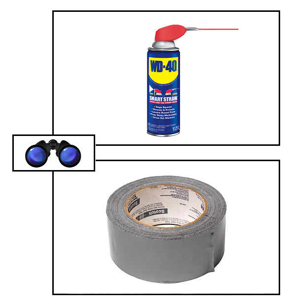 SPEC WD-40 Duct tape
