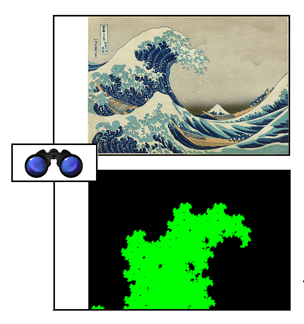 SPEC DQ Hokusai fractal