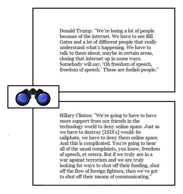 SPEC DQ Trump Clinton