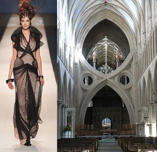 Jean-Paul Gaultier 2009 wells cathedral 1