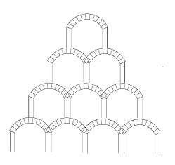 pyramid of arches