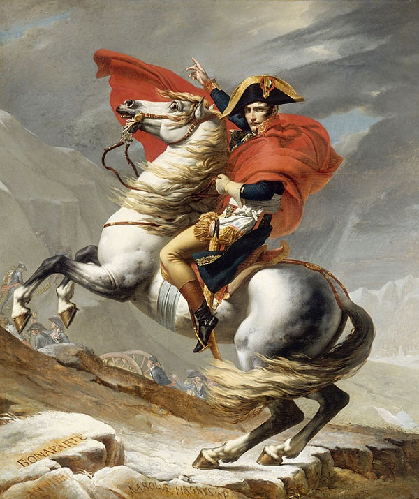 Jacques Louis David, Napoleon 600