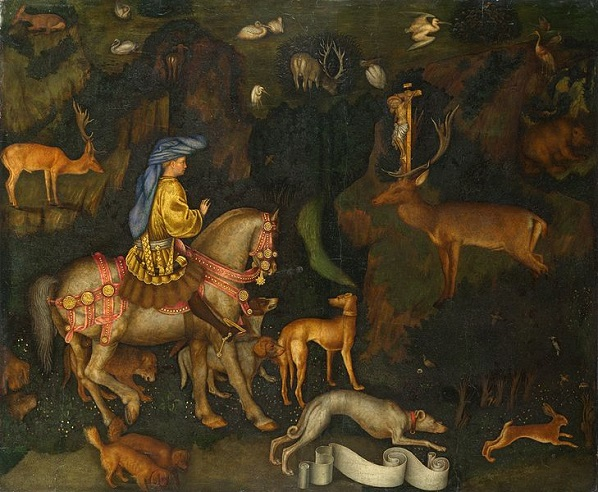 Pisanello's St Eustace in the National Gallery
