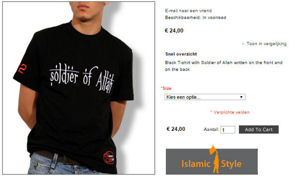 soldier of allah dutch catalog