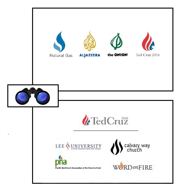 cruz logos secular sacred