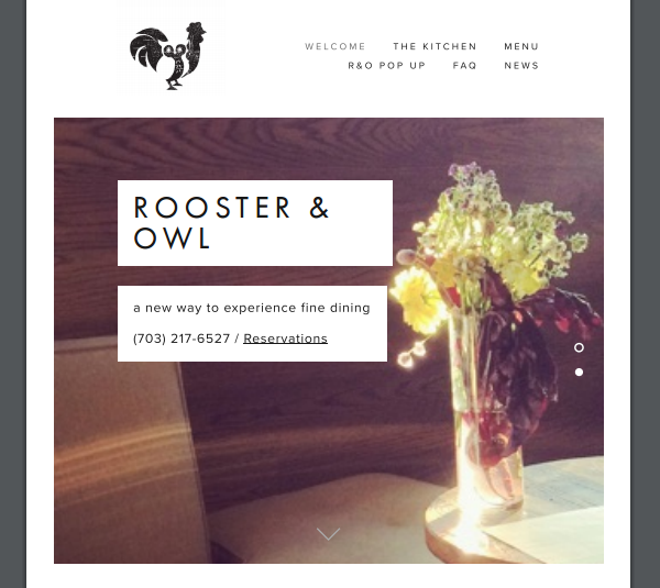 rooster and owlm fine cuisine