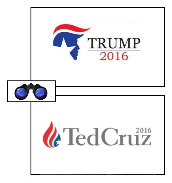 trump cruz logos