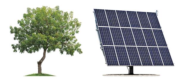 two solar machines