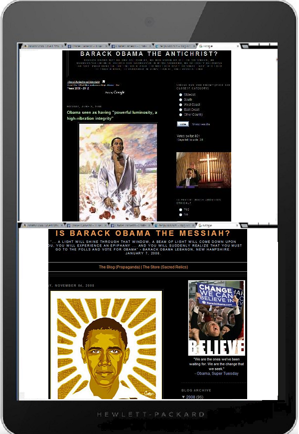 Tablet DQ obama christ or antichrist