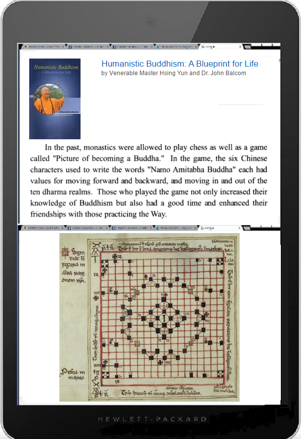 Tablet DQ Monastic games