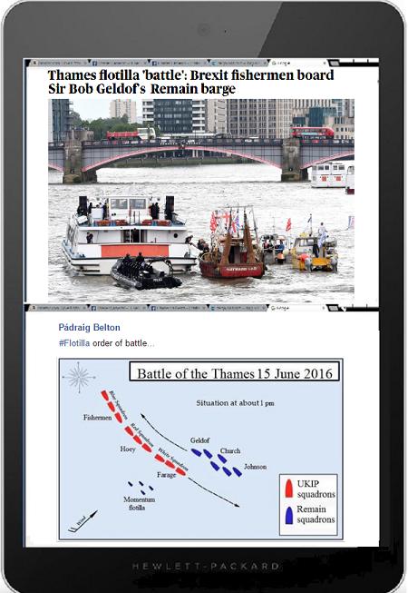 Brexit Battle on Thames