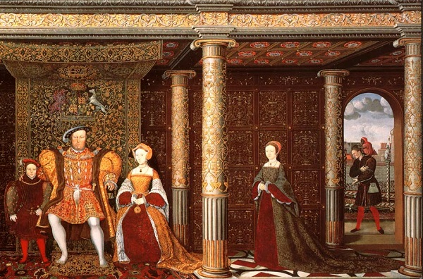 detail Will Sommers Family_of_Henry_VIII_c_1545