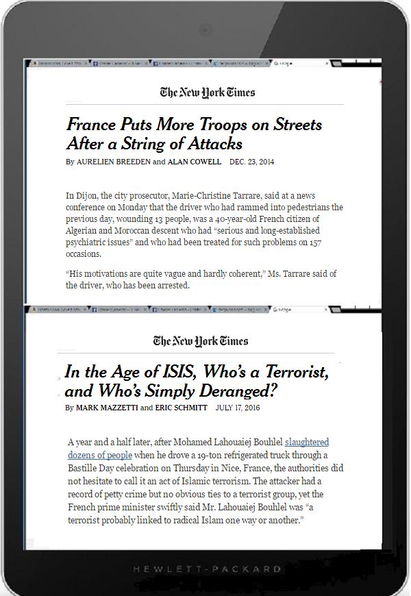 Tablet DQ 600 Terrorist or Deranged