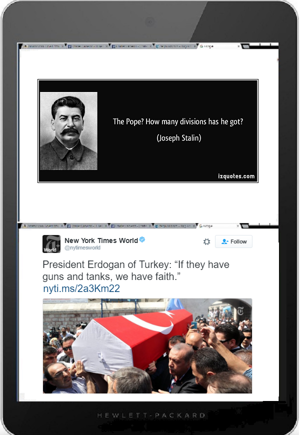 Tablet DQ 600 stalin erdogan