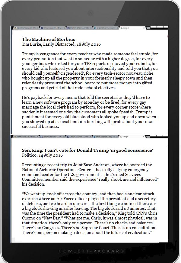 Tablet DQ Trump Burke & King