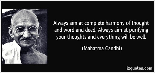 Gandhi thought word deed4