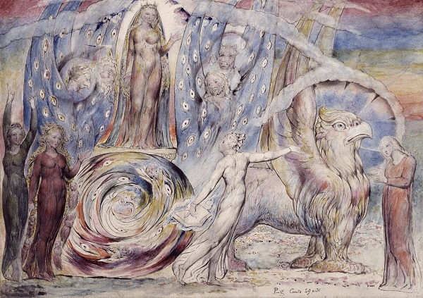 Beatrice Addressing Dante from the Car 1824-7 William Blake 1757-1827